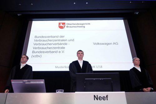In Braunschweig raten die Richter den Streitparteien zu einem Vergleich. Reuters