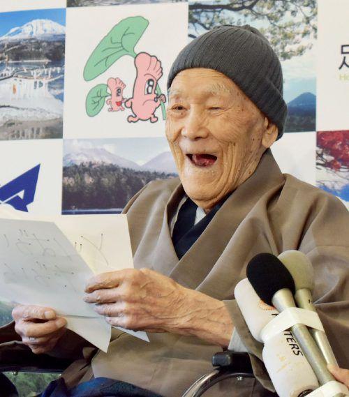 In Japan leben 71.238 Menschen im Alter von 100 oder mehr Jahren. AFP