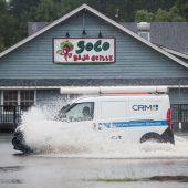 Hurrikan Dorian ist in den USA auf Land getroffen