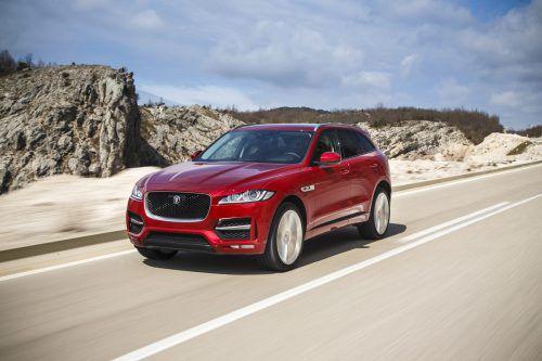 Jaguars Einstieg ins SUV-Segment ist auf Performance ausgerichtet. Der F-Pace hat bis zu 550 PS (SVR). Preis: ab 50.200 Euro (163 PS, Diesel).