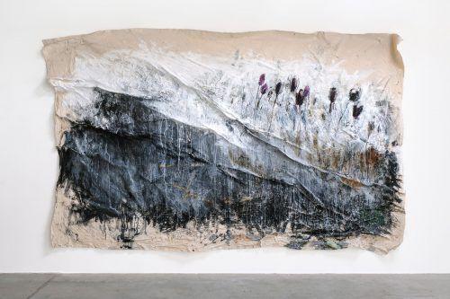 Jakob Kirchmayr schuf großformatige Bilder von eigentümlicher poetischer Kraft. schwarze tulpen