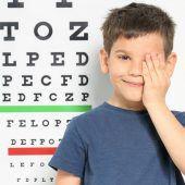 Kurzsichtige Schulkinder