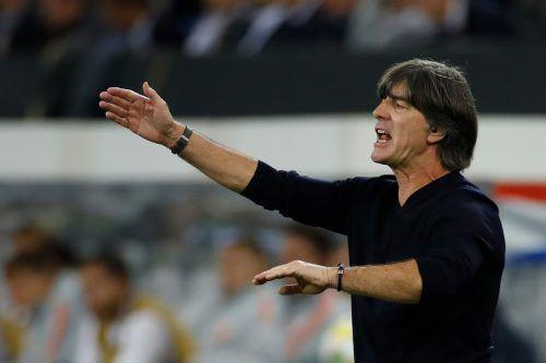 Joachim Löw und das deutsche Nationalteam brauchen in Nordirland einen Sieg.Apa