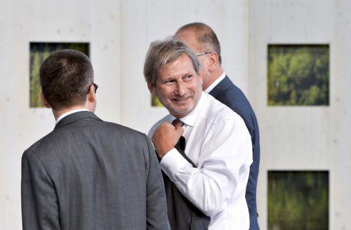 """Johannes Hahn freut sich darüber, dass ihm die designierte EU-Kommissionschefin ein """"Schlüsselressort für die Zukunft Europas"""" zuteilen will. apa"""