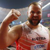 Weißhaidinger brach mitDiskus-Bronze den WM-Bann