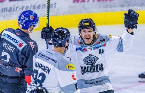 Juhani Tamminen (l.) und Olle Liss konnten sich über einen gelungenen Ligaauftakt freuen.GEPA