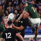 Neuseeland mit Mühe gegen Südafrika