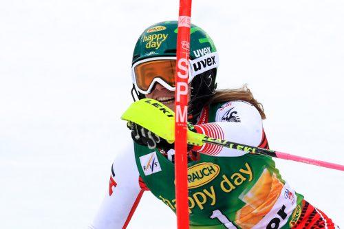 Katharina Liensberger ist seit einem Monat ohne Skitraining.gepa