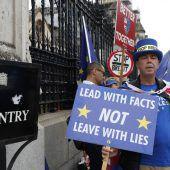 Brexit-Dokument mit Schreckensszenarien