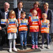 Mehr Verkehrssicherheit für Kindergärtler