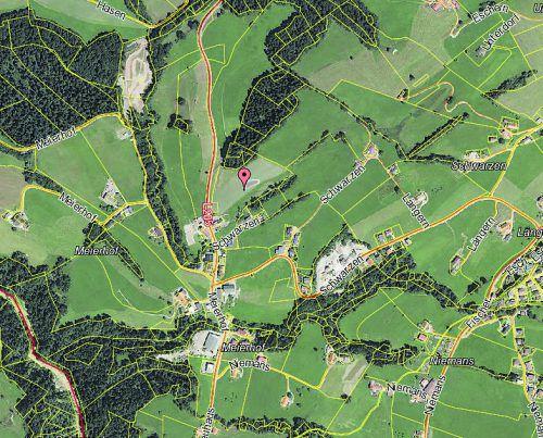 © Land Vorarlberg: data.vorarlberg.gv.at, BEv (DKM)