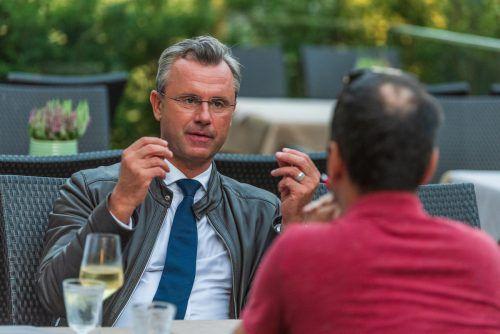 Laut Hofer soll im Nationalrat eine Mautlösung beschlossen werden. VN/Stiplovsek