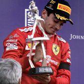 Leclerc-Sieg befeuert mögliche Wachablöse bei Ferrari