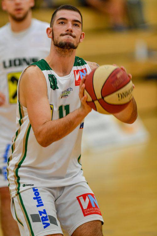 Luka Kevric und Co. wollen die Nummer eins in Westösterreich bleiben. VN/Lerch