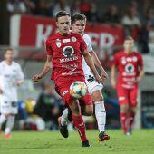 Vorwärts Steyr stopptdie Miniserie des FC Dornbirn