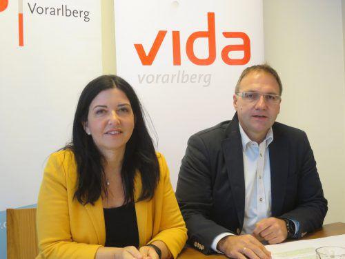Manuela Auer und Reinhard Stemmer legten Forderungskatalog vor. ha