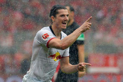 Marcel Sabitzer traf für Leipzig beim 3:0-Sieg in Bremen.Afp