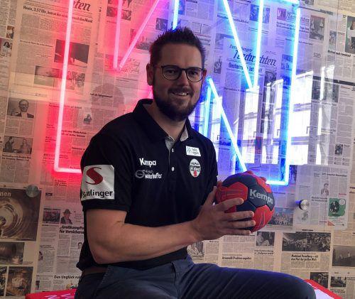Markus Köberle ist der Mann mit pfiffigen Ideen beim Alpla HC Hard. JD
