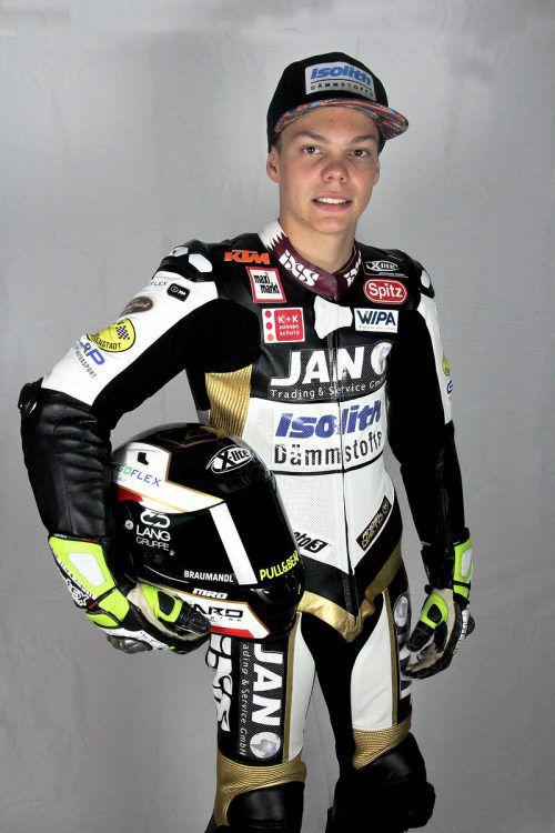 Maximilian Kofler gibt ab 2020 in der Motor3-WM Gas.apa
