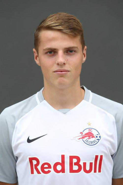 Mit 17 Jahren im Kader für die Youth League: Benjamin Böckle. gepa
