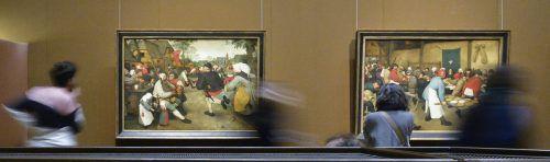 MitPieter Bruegel war das Kunsthistorische Museum in Wien im Vorjahr ein besonderer Besuchermagnet, demnächst wird eine Caravaggio-Ausstellung eröffnet. APA