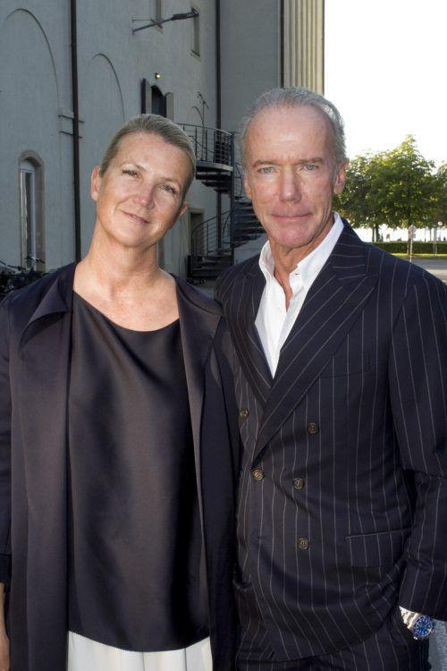 Modemacher Susanne und Martin Sagmeister.