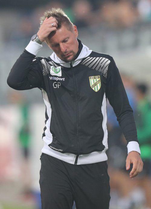 Nach 61 Spielen als Cheftrainer von Austria Lustenau ist für Gernot Plassnegger nun Schluss. Differenzen mit dem Sportdirektor waren ausschlaggebend.Gepa