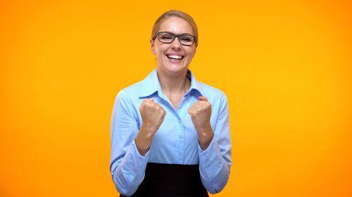 Optimistische Menschen haben besonders gute Aussichten.