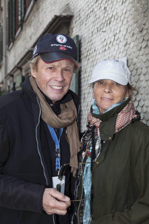 """Peter Kraus ist begeisterter Oldtimerfan und nimmt mit seiner Frau an der """"Arlberg Classic"""" teil. Lisa Mathis"""