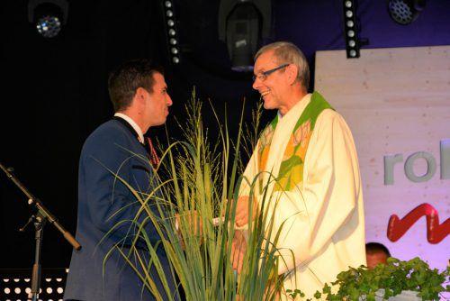 Pfarrer Erich Baldauf wurde verabschiedet.