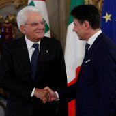 Neue italienische Regierung vereidigt