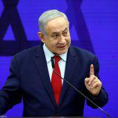 Netanjahu droht mit Krieg