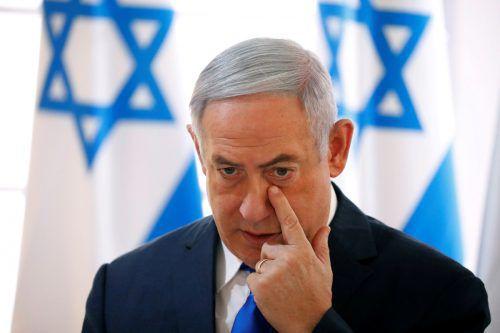 Regierungschef Netanjahu hat im Wahlkampf betont, er strebe eine rechts-religiöse Koalition an. reuters