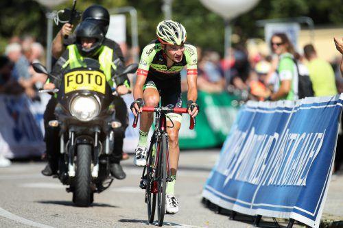 Roland Thalmann und sein Team sicherten sich den ersten Platz.GEPA/Walgram