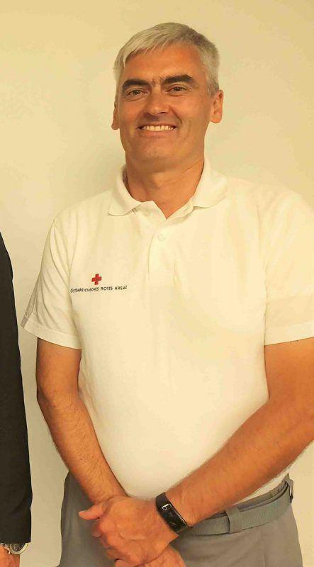Ronald Faulhaber ist neuer RK-Kommandant in Lustenau. RK