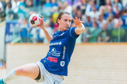 Rückraumspielerin Laura Seipelt ist eine fixe Größe im Spiel der Feldkircherinnen.VN/Stiplovsek/3