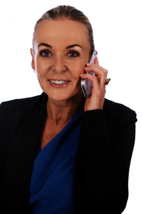 Ruth-Maria Baumann brachte es beruflich weit. Sie leitet heute eine Firma.