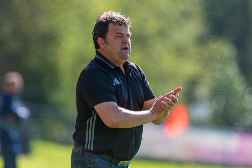 RW-Rankweil-Trainer Stipo Palinic setzt im Derby gegen Röthis auf die Jugend.Stiplovsek
