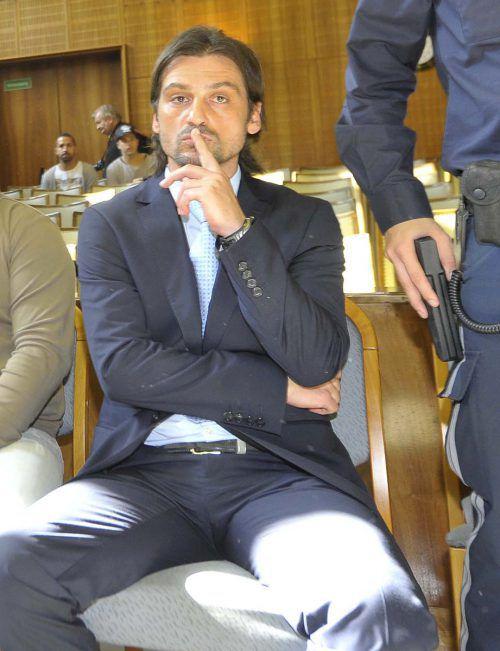 Sanel Kuljic wurde wegen Besitz von Kokain festgenommen.Apa