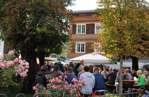 Schwarzenberger Markt mit Käseprämierung am Samstag, 14. September.