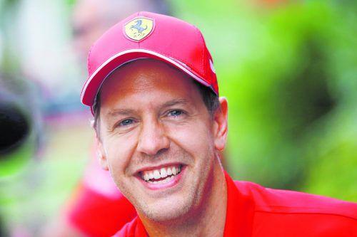 Sebastian Vettel gewann bereits vier Mal in Singapur. Aber 2017 und 2018 wurde er entzaubert. ap
