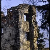 Ehemalige Höhenburg auf dem Schlossberg