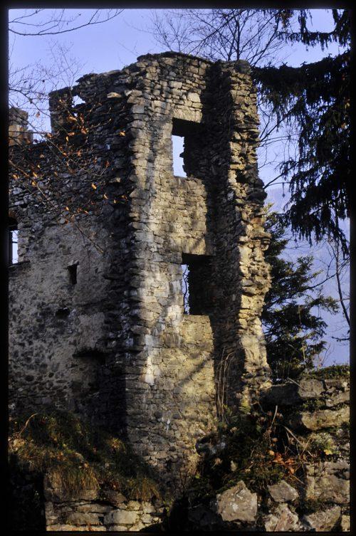 Seit 1938 werden immer wieder Restaurierungsmaßnahmen an der Burgruine vorgenommen.Vorarlberger Landesbibliothek, Rudolf Zündel, Helmut Tiefenthaler