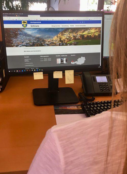 Sieben Montafoner Gemeinden haben ihre digitale Heimat einander angeglichen. VN/JS