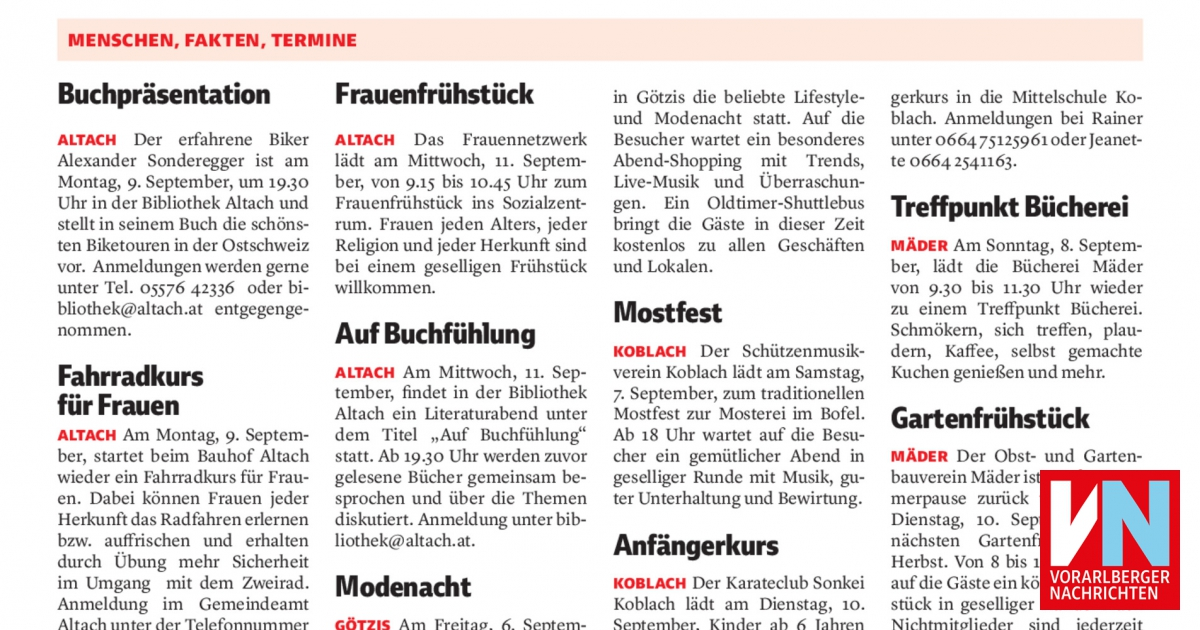 Frhstcks-Treffen fr Frauen: Sicher in unsicheren - intertecinc.com