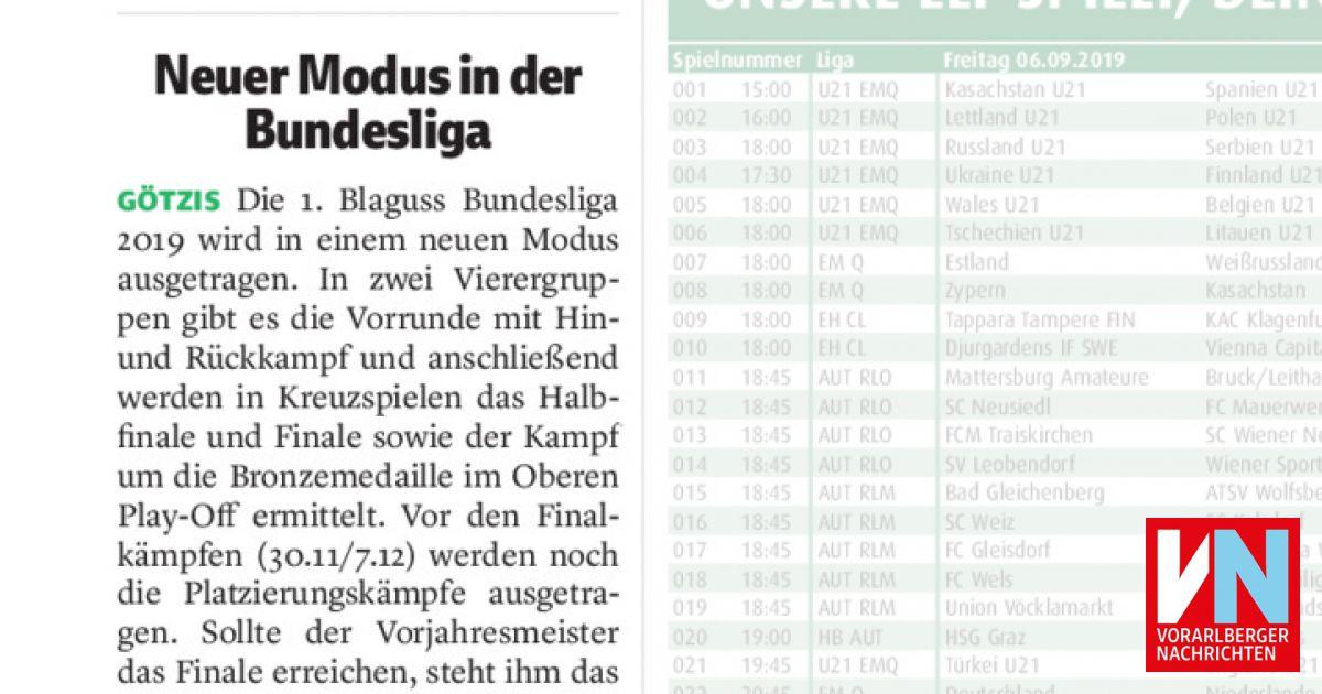 Г¶sterreichische Bundesliga Modus