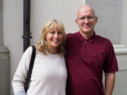 Sonja und Jürgen Ritter bei der Sonntagsmatinee.