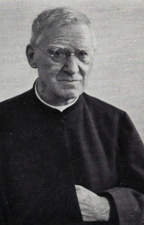 Sterbebild des gebürtigen Levners Pater Carl Frick.privat