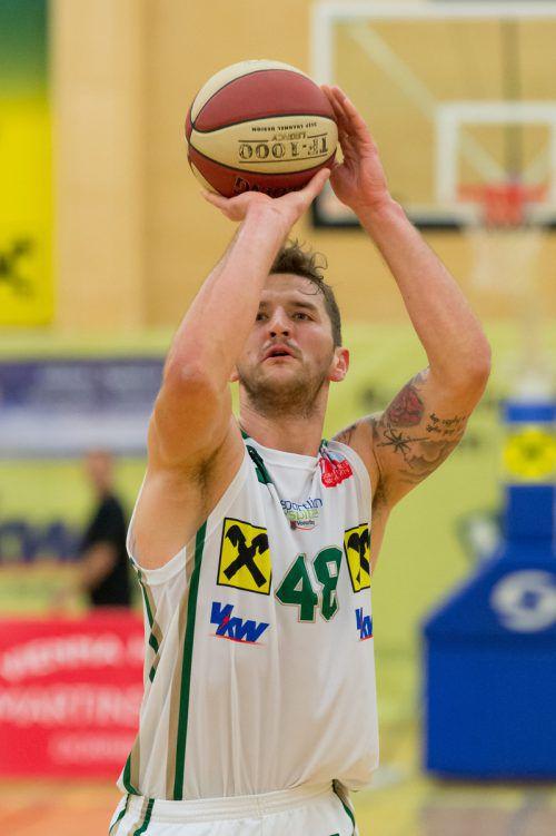 Timur Bas schied im Endspiel gegen Rosenheim verletzt aus.VN/DS