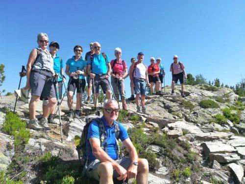 Tolle Wandertage konnten Wanderbegeisterte im Ahrntal/Südtirol genießen.Kneipp-Aktiv-Club Vorderland